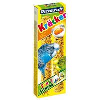 Крекер Vitakraft для волнистых попугаев с яйцом, 2 шт