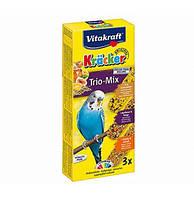 Крекер Vitakraft для волнистых попугаев с медом и фруктами, 3 шт