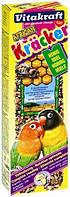 Крекер Vitakraft для маленьких африканских попугаев с медом, 2 шт