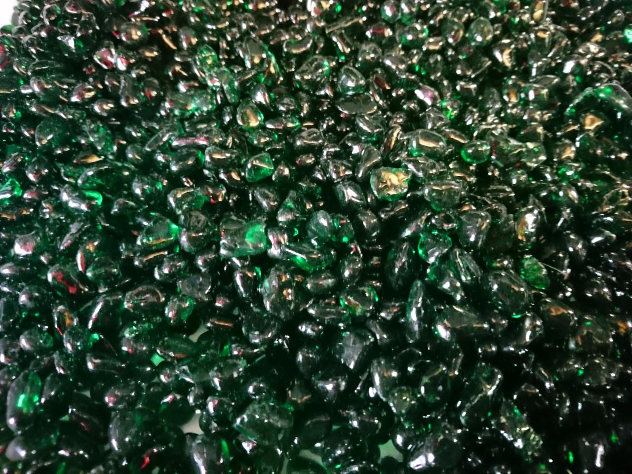 Грунт цветной, зеленый фракция 5мм