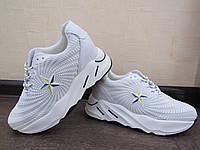 Кроссовки белые,  размер 36-40