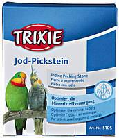 Мел Trixie Iodine Pecking Stone для больших попугаев йодированный, 80 г