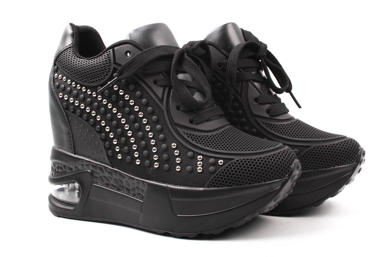 4b6ca9c2f Сникерсы женские Chezoliny текстиль, цвет черный (ботинки, танкетка, ...