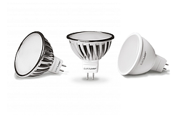 Лампы светодиодные MR16 EUROLAMP