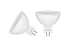 Лампы светодиодные MR16 GLOBAL