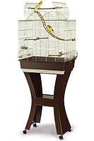 Клетка Imac Matilde для попугаев с подставкой, 58х38х71 см