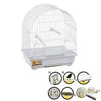 Клітка Karlie-Flamingo Jambi для птахів біла, 30х22,5х38 см