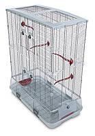 Клетка Hagen Vision L 02 для птиц, тонкий прут, 75х38х92.5 см