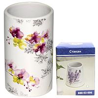 888-03-007 Стакан 'Орхидея' 11,3*6,2 см
