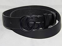 Ремень женский кожаный GUCCI ширина 30 мм. 930560