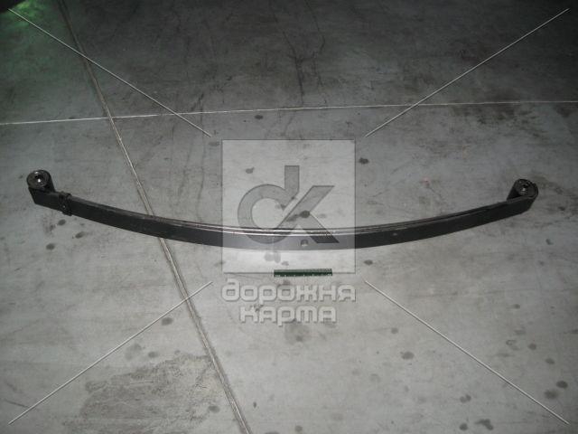 Ресора передн. ГАЗ 3302 2-лист. з докір. вухом 1566 мм з сайлент. (пр-во Чусовая)