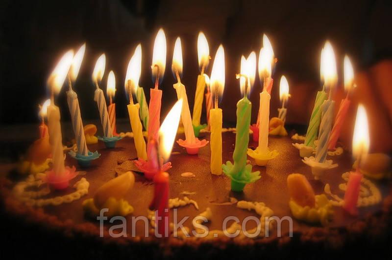 Свечи для торта (24 шт)