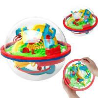 3D Flying Saucer Волшебный лабиринт Лабиринт-мяч Развивающие развивающие игрушки для детей Цветной