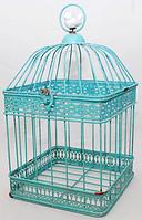 777-027 Декоративная клетка с птичкой  31 см