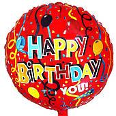 """Фольгированные шары с рисунком 18"""" НВ шары и серпантин FlexMetal"""