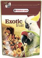 Корм Versele-Laga Exotic Fruit для крупных попугаев с экзическими фруктами, 600 г