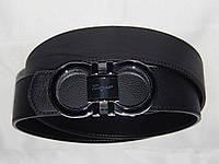 Ремень мужской кожаный Ferragamo ширина 40 мм. 930562