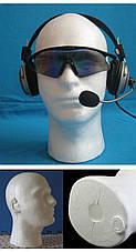 Манекены головы из пенопласта для шапок, париков, очков, рисования, фото 3