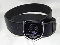 Ремень мужской кожаный PHILIPP PLEIN ширина 40 мм. 930565