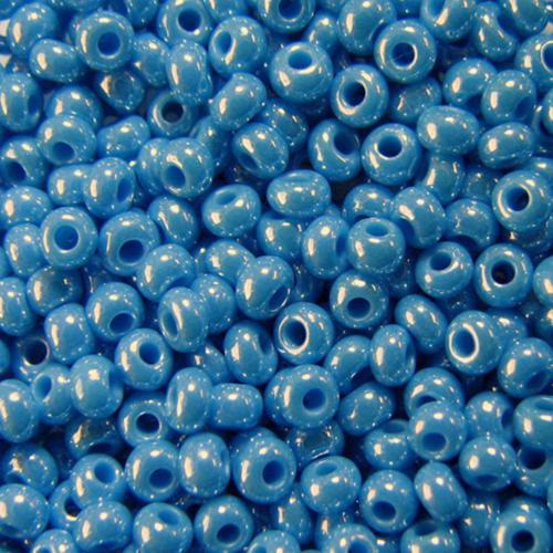 Бисер чешский 68050 5гр голубой