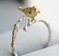Нежное серебренное кольцо 925, фото 1