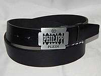 Ремень мужской кожаный PHILIPP PLEIN ширина 40 мм. 930568