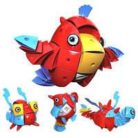 Волшебная мудрость Ball Магнитная деформация животных игрушка подарок Красный