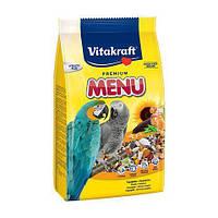 Корм Vitakraft Menu для крупных попугаев, 3 кг