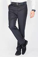 Классические однотонные мужские брюки (Черный). АРТ- 81F005.5