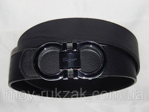 Ремень мужской кожаный Ferragamo ширина 40 мм, реплика 930562, фото 2