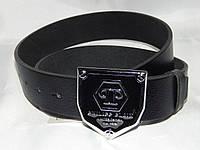 Ремень мужской кожаный PHILIPP PLEIN ширина 40 мм, реплика 930565