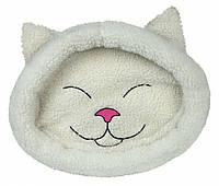 Лежак Trixie Mijou искусственная шерсть и полиэстер, бежевый, 48х37 см