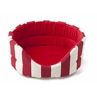 Лежак Comfy Marina L красный, 58x52x21 см
