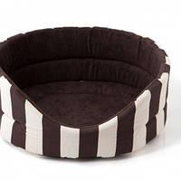 Лежак Comfy Marina M коричневый, 52х46х19 см
