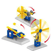 Подъема копрового шкива группы инженерно-механических наук образование строительные блоки игрушки 50шт Цветной