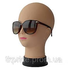 Женские солнцезащитные очки 21268 Коричневые