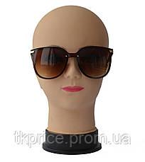Женские солнцезащитные очки 21268 Коричневые, фото 2