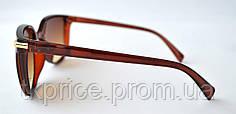 Женские солнцезащитные очки 21268 Коричневые, фото 3