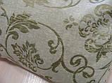 Комплект подушок блакитні квіточки, 2шт 53смх29см, фото 4