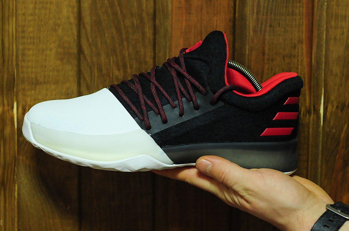 fd64a300 Баскетбольные кроссовки adidas Harden Vol. 1 (Адидас) черно-белые, цена 1  469 грн., купить в Киеве — Prom.ua (ID#658188938)
