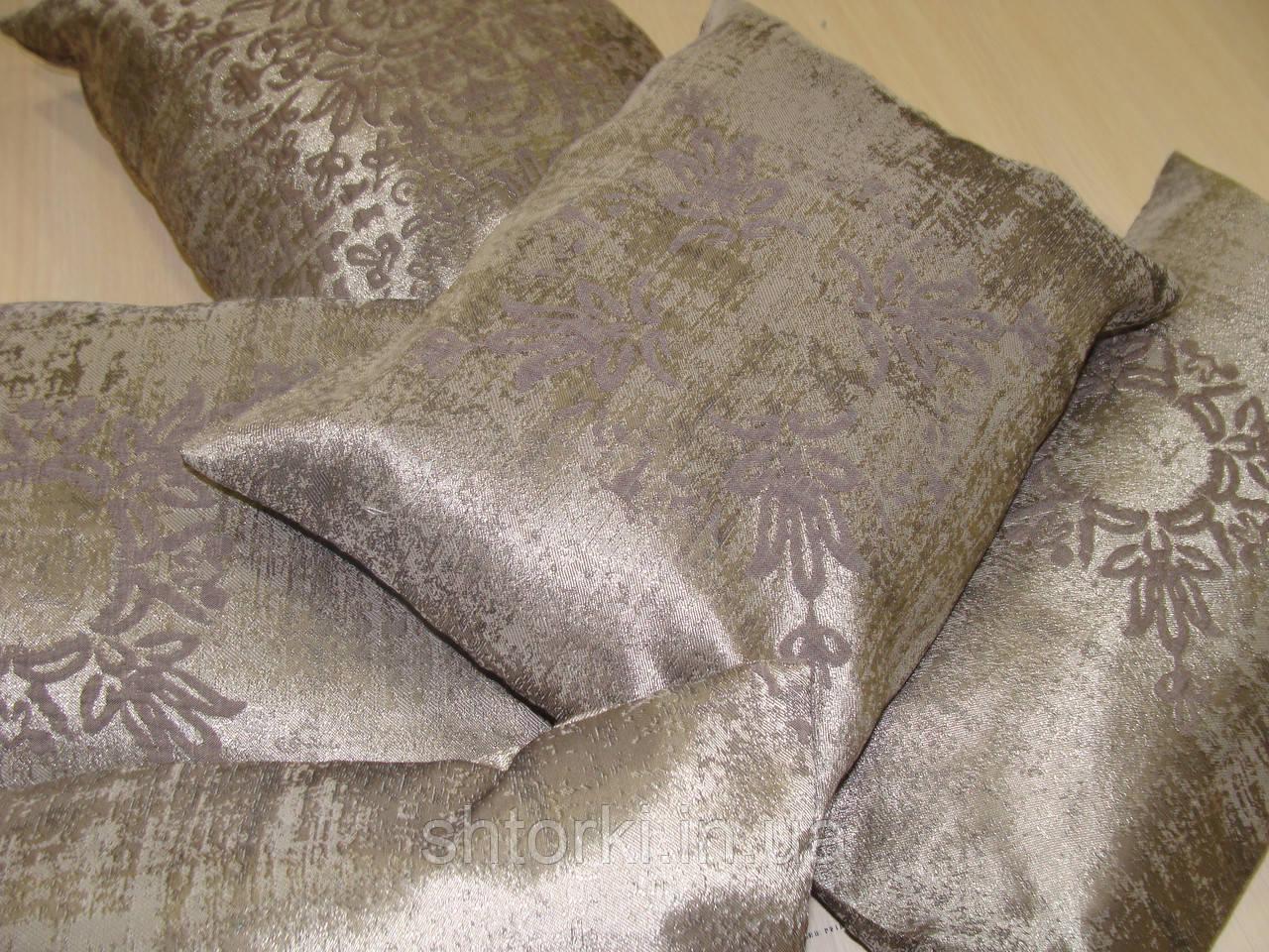 Комплект подушек серый асфальт,  5шт