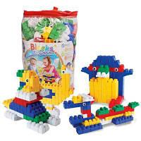 Дети большой гранула пластиковые раннего образования головоломки кусок вместе DIY строительных блоков игрушки Цветной