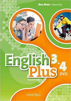 English Plus Second Edition 3 and 4 DVD, фото 2