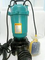 Насос дренажно-фекальный LEON R-210 с измельчителем (с поплавком)