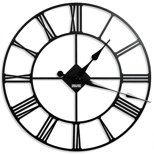 Часы настенные лофт Weiser LONDON (100 см) [Металл, Открытые]