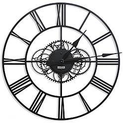Часы настенные в стиле лофт Weiser MADRID [Металл, Открытые]