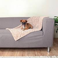 Коврик Trixie Cosy Blanket плюшевый, бежевый, 100х70 см