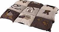 Матрац Trixie Patchwork Blanket жаккард и полиэстер, с рисунком, 55х40 см