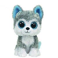 18CM Slick Серые собаки Плюшевые Детские фаршированные куклы Коллекционные Мягкие игрушки Big Eyes Серый