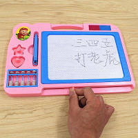Магнитный чертеж Doodle Writing Board для детей Baby Розовый